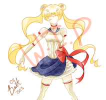 Steam Punk Sailor Moon W.I.P by TaiDaisuke