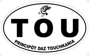 TOUCH'CAR STICKER by louboumian
