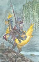 Chocobo Knight by Evil-Bane