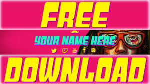Hotline Miami 2 (YouTube Channel Art Template) by TheMoustacheFilms