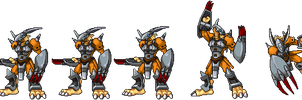 WarGreymon Varient by Wooded-Wolf