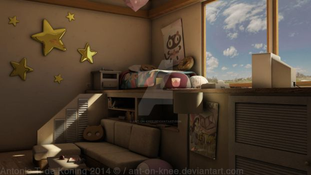 Steven Universe Themed Room by Ant-on-knee