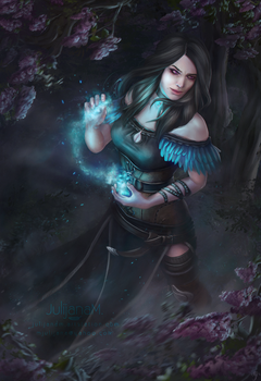 Yennefer Fanart by JulijanaM