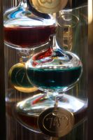 Galilean thermometer by here-and-faraway