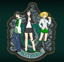 Our Hogwarts Slytherin Girls by dragongodess1
