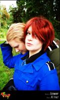 APH-cosplay: Oblivious by Kumagorochan