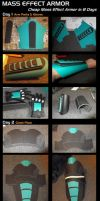 Mass Effect Armor Step by Step Construction by Euderion