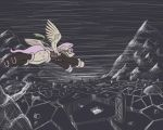 Fluttershy at the Mountains of Madness by WillyGalleta