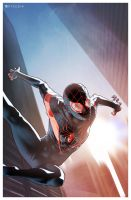 ULTIMATE SPIDER-MAN: Miles Morales by Pryce14