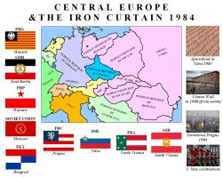 Alternative map of Europe 1984 by TomSimpson96