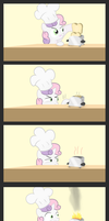 Watch out, I'm making toast by 041744