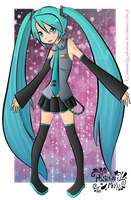 Hatsune Miku by LorenaMcLucyPhantom