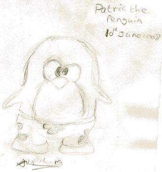 patrick the penguin by beasty1994