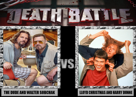 Death Battle: The Big Lebowski Vs Dumb and Dumber by MrAngryDog