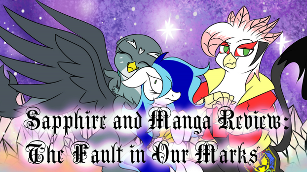 The Fault in Our Marks Titlecard by Animechristy