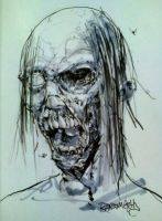 ZombieHead by RansomGetty