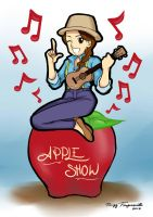 Apple show mascot by cgtang