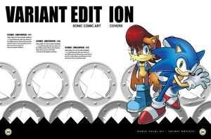 Sonic Art Collection (Pages 22-23) by darkspeeds