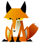 A Bored Fox by SillyEwe