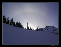 Halo over Whistler by endure