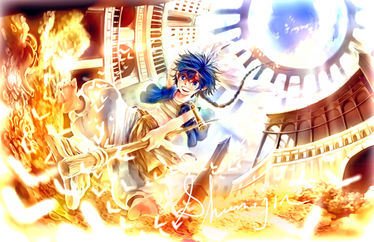 ALADDIN - MAGI: The Labyrinth of Magic by Shumijin
