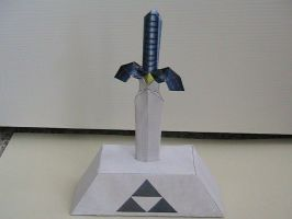 Master Sword papercraft by may7733