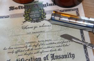 Certificate of Insanity 2 by Joshua-Mozes