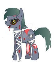 Trinity - The Zombie Pony V.2 by Superstar4071