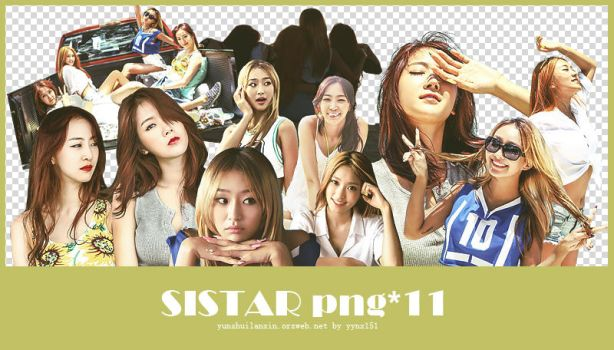 SISTAR png pack #01 by yynx151
