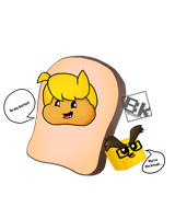 I Am Bread - Gaijn and Aki by BKcrazies0