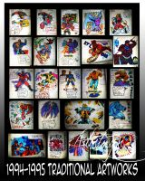 1994_1995 artworks collection by artistmyx
