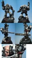 Brother Sergeant Mortis, by Kufspawn