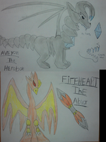 Aveyon The Herobon And Fireheart The Advor by pd123sonic