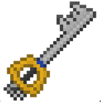 Keyblade - Pixelart by Paulo60379