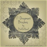 17 Ornament Brushes by pinkonhead
