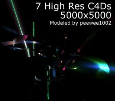 7 HIGH RES C4Ds by peewee1002