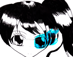 Black Rock Shooter (Day 10) by MSTieMiss