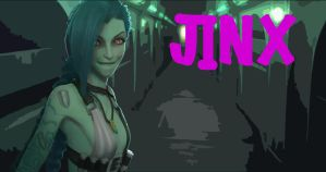 League of Legends - Jinx by WarrioroftheSoul