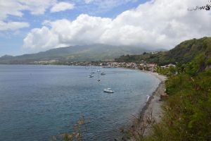 Saint-Pierre town in Martinique by A1Z2E3R