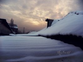Snow by MaryBrodzeli