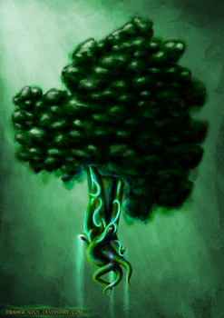 Emerald Broccoli by TheMagicalPot