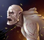 Month O' Monsters - Azog the Defiler by flattack