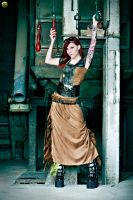 Steampunk by Stix by BlackNorns