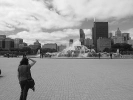 Chicago fountain by simpspin
