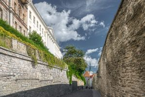 between Tallinn walls by Rikitza