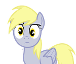 Derpy Hooves- say wut? by Atelophobic