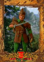 Custom Robin Hood Doll by kingsley-wallis