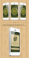 Holy Quran application on Behance by begha