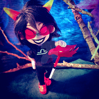 Armature Plush - Terezi Pyrope by pupukachoo