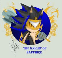 knight of sapphire by RoXthehedgehog
